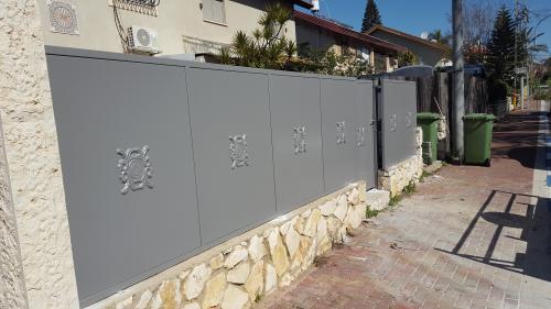 גדר ושער פח: תמונה מס' 218