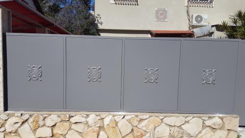 גדר ושער פח: תמונה מס' 217