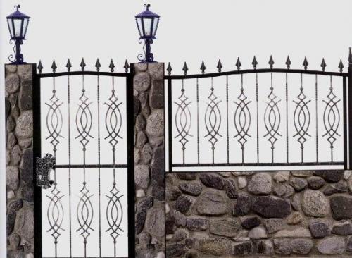גדר ושער מעוצב: תמונה מס' 110