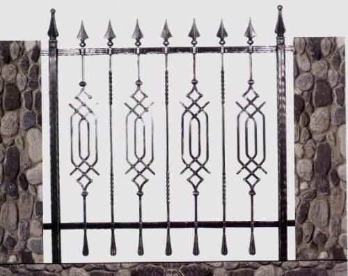 גדר דקורטיבית: תמונה מס' 108